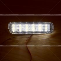 Диодные катафоты заднего бампера в черном и прозрачном исполнении