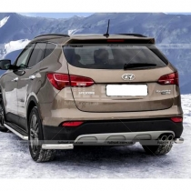 Углы заднего бампера Hyundai Santa Fe (2013-...)