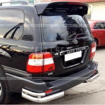 Углы заднего бампера Toyota Land Cruiser 100 (98-07)