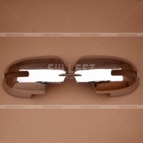Хром накладки зеркал Mitsubishi Outlander XL (07-12)