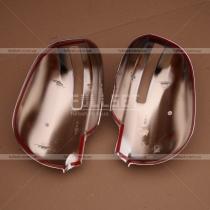 Хром накладки на зеркала Outlander (10-12)