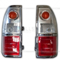 Задние фонари на лампочках Toyota Prado 90 (96-03)