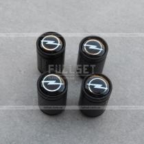 Колпачки на ниппеля Opel черные