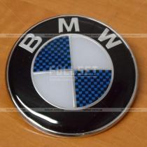 Эмблема BMW карбон