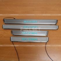 Неоновые порожки Nissan Maxima A32 (95-99)