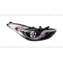 Передняя оптика Hyundai Elantra 2011-...