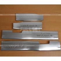 Накладки на пороги Suzuki Grand Vitara (05-...)