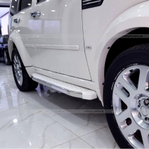 Подножки белые Dodge Nitro (07-12)