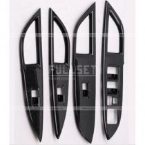 Накладки на дверные подлокотники Mitsubishi Outlander (2013-...)