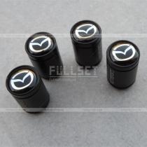 Колпачки на ниппеля Mazda черные
