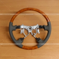 Деревянный руль Toyota Land Cruiser 100 (98-07)