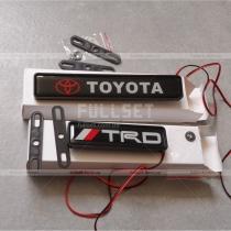Неоновая эмблема Toyota, TRD