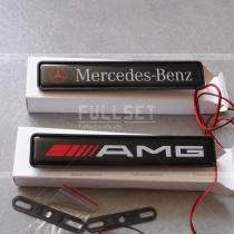Неоновая эмблема AMG, Mercedes Benz