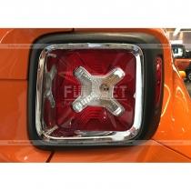 Накладки на задние фонари Jeep Renegade (2015-...)