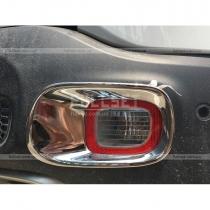 Накладки на задние противотуманки Jeep Renegade (2015-...)