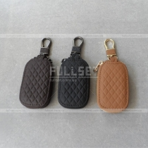 Чехол для ключей (черный, коричневый, бежевый)