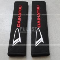 Велюровые чехлы для ремней безопасности с вышитой эмблемой Daihatsu