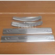 Накладки порогов Honda CR-V (07-12)