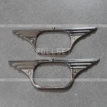 Хром кант на повторители поворотов Toyota Hilux (05-15)
