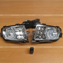 Противотуманная оптика Mazda 6 (02-07)