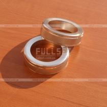 Кольца-накладки на ручки регулировки кондиционера и отопителя