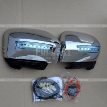Накладки на зеркала Mitsubishi Pajero Sport (2010-...)