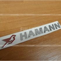 Надпись-наклейка Hamman