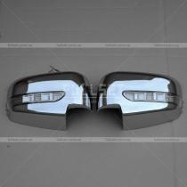Накладки на зеркала Mitsubishi L-200 (06-12)