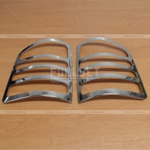 Накладки на задние фонари Volkswagen Transporter T5 (04-09)
