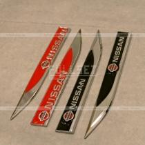 Эмблемы в крыло Nissan 2 шт