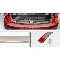 Накладка на задний бампер Subaru Forester (2013-...)