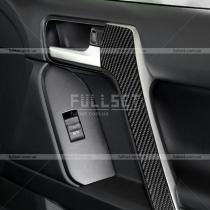 Накладки карбоновые на поручни Toyota Prado 150 (2018-...)