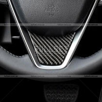 Накладка на руль карбоновая Toyota Camry v70 (2018-...)