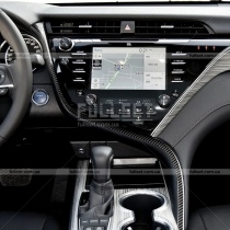 Накладка на консоль Toyota Camry v70 (2018-...)