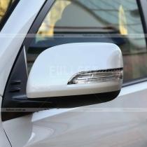Карбоновые полоски на зеркала Toyota Prado 150 (2018-...)