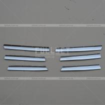 Хром-накладки на решетку Volkswagen Caddy 04-09