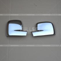 Хром-накладки на зеркала Volkswagen Caddy 04-09