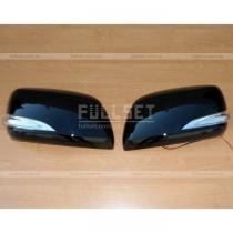 Наружные колпаки на зеркала со встроенным светодиодным указателем поворотов (style Lexus)