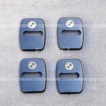 Накладки на замки BMW черные