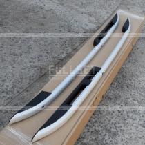 Алюминиевые продольные рейлинги на крышу