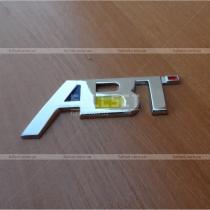 Металлический логотип ABT