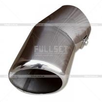 Насадка на глушитель Mitsubishi Pajero Wagon 4 (08-13)