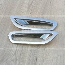 Накладки на габариты заднего бампера Nissan X-Trail (2015-...)