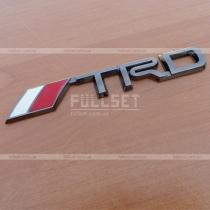 Оригинальная символика-значок TRD, исполнение темный хром