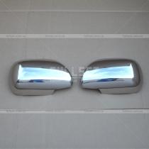 Хром накладки на зеркала Toyota Prado 120 (03-09)