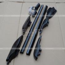 Рейлинги продольные черные Toyota Prado 120 (03-09)