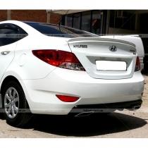 Спойлер (сабля) Hyundai Accent (2010+)