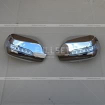 Хром на зеркала с поворотами Mazda Mazda 3 (04-08)