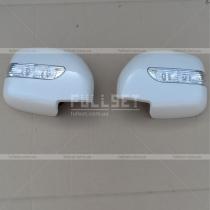 Накладки на зеркала с поворотами Toyota Prado 90 (96-03)