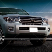 Передний бампер Toyota Land Cruiser 200 (08-...)